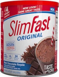 slimfast shake powder