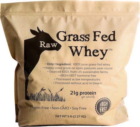 Grass Fed Whey Protein Shake